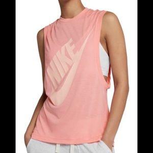 NWT NIKE Sunset Sportswear Essential Tank Top